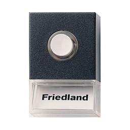 Friedland Friedland beldrukker Pushlite D723 zwart