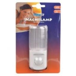 Huismerk LED nachtlampje bewegings sensor