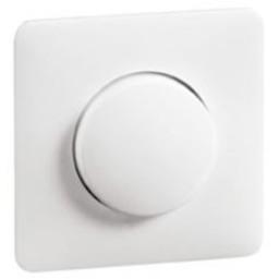 Huismerk Dimmerplaat met knop    D80.610HRW