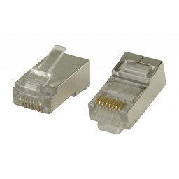 Valueline RJ45 connector voor solid STP CAT 6 kabels