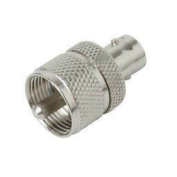 <br />  ADAPTER BNC FEMALE &gt;&gt; UHF MALE