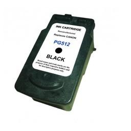 Huismerk Inkt cartridge voor Canon Pg-512 zwart met niveau-indicator