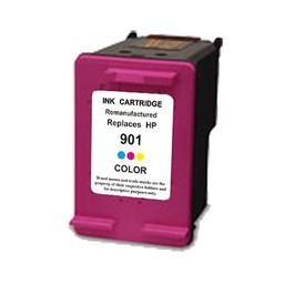 Huismerk Inkt cartridge voor Hp 901Xl kleur met niveau-indicator