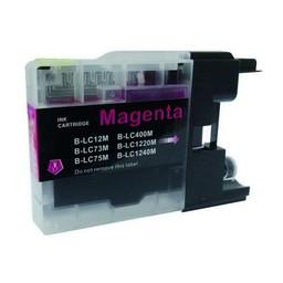 Huismerk Inkt cartridge voor Brother LC 1220 1240 1280 magenta