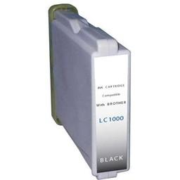 Huismerk Inkt cartridge voor Brother LC 1000 zwart