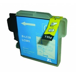 Huismerk Inkt cartridge voor Brother LC 980 985 1100 cyan