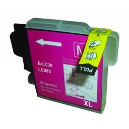 Huismerk Inkt cartridge voor Brother LC 980 985 1100 magenta