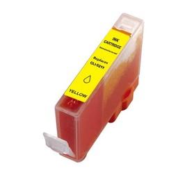 Huismerk Inkt cartridge voor Canon CLI 521 geel