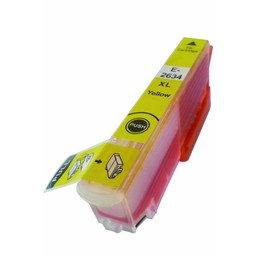 Huismerk Inkt cartridge voor Epson 26Xl geel