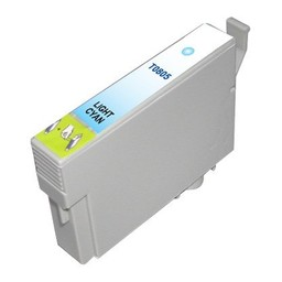 Huismerk Inkt cartridge voor Epson T0805 light cyan
