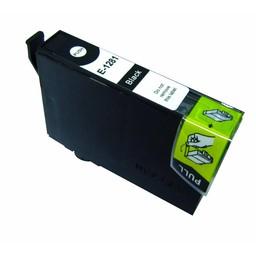 Huismerk Inkt cartridge voor Epson T1281 zwart
