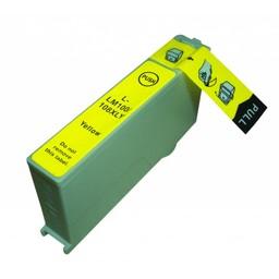 Huismerk Inkt cartridge voor Lexmark 100Xl geel