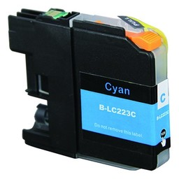 Huismerk Inkt cartridge voor Brother LC 223 cyan (met chip)