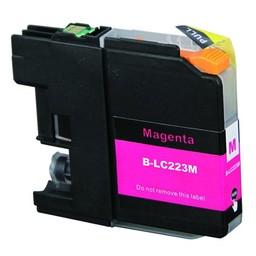 Huismerk Inkt cartridge voor Brother LC 223 magenta (met chip)