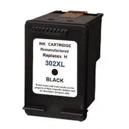 Huismerk Inkt cartridge voor Hp 302XL zwart met niveau-indicator