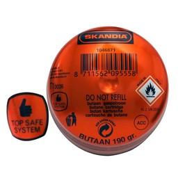 Skandia Skandia wegwerp gasvulling 190 g