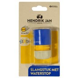 """Hendrik Jan Hendrik Jan slangstuk met waterstop 13 mm (1/2"""")"""