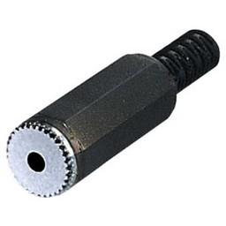 <br />  2.5mm Stekker female mono met tule