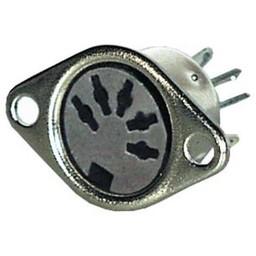 <br />  DIN chassisdeel 5-polig 180