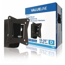 "Valueline Tv-muurbeugel kantelbaar 10 - 26""/25 - 66 cm 30 kg"