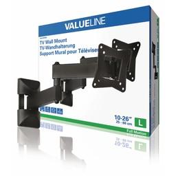 "Valueline TV-muurbeugel draai- en kantelbaar 10 - 26""/25 - 66 cm 15 kg"