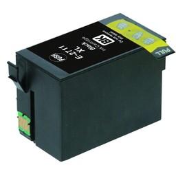 Huismerk Cartridge voor Epson T 2711 Black