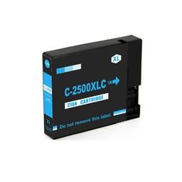 Huismerk Cartridge voor Canon LC 2500 XL Cyan