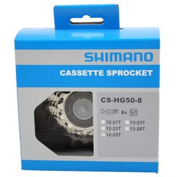 Shimano Shim cass 8v 12/25 HG50