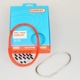 Elvedes Elvedes versn kabel kit ATB/RACE rd