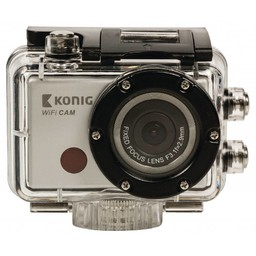 König Full HD Action Camera 1080p Wi-Fi Zilver
