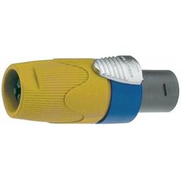 Neutrik Cable socket, Speakon Geel 4P