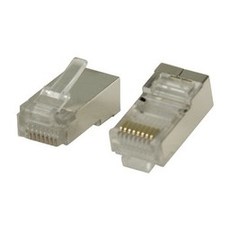 Valueline Connector RJ45 Stranded STP CAT5 Male PVC Transparant