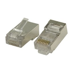 Valueline Connector RJ45 Stranded STP CAT6 Male PVC Transparant