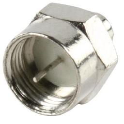 Valueline F-Connector Male Metaal Zilver