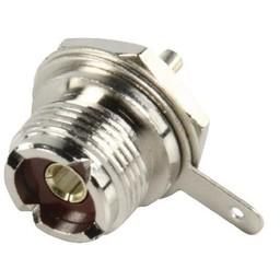 Valueline Connector UHF Female Metaal Zilver