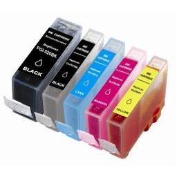 Huismerk Set cartridges voor Canon PGI 520 521
