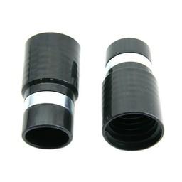 Huismerk MOF rubber 32mm zwart + metalen ring voor slang dia 32mm inwendig