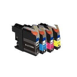 Huismerk Set cartridges voor Brother LC 121 LC 123 (met chip)