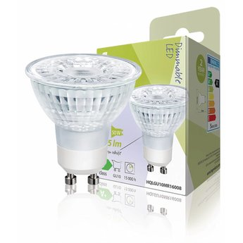 HQ Dimbare LED-Lamp Halogeen-Look MR16 GU10 5 W 345 lm 2700 K ...