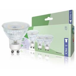 HQ LED-Lamp GU10 MR16 4.5 W 345 lm 3000 K 3-Pack
