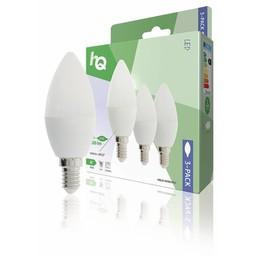 HQ LED-Lamp E14 Kaars 3 W 250 lm 2700 K 3-Pack
