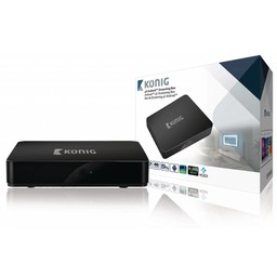 König 4K Android Streaming Box Met Fly Mouse