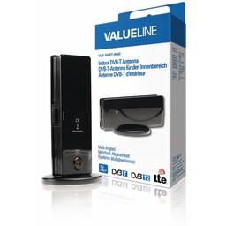 Valueline DVB-T/T2 - DAB+ Binnen Antenne 4 dB VHF / UHF