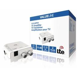 Valueline CATV / DVB-T Versterker 2 Uitgangen
