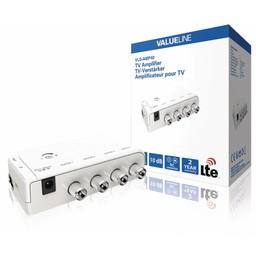 Valueline CATV / DVB-T Versterker 4 Uitgangen
