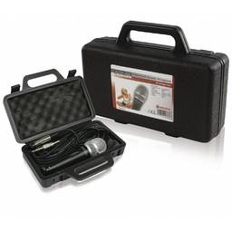 König Bedrade Microfoon 6.35 mm Zwart / Grijs