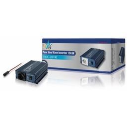 HQ Pure Sinus Omvormer 12 VDC AC 230 V 150 W F (CEE 7/3)