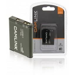 Camlink Oplaadbare Lithium-Ion Camera Accu 3.7 V 730 mAh