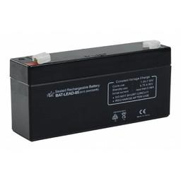 HQ Oplaadbare Loodzuur Accu 6 V 3200 mAh 134 mm x 35 mm x 61 mm