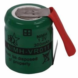 HQ Oplaadbare NiMH Batterij Pack 1.2 V 300 mAh 1-Pack